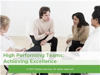 High Performing Teams: Achieving Excellence